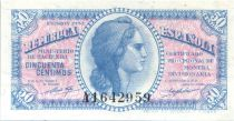Espagne 50 Centimos  République  - 1937