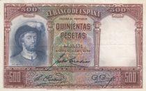 Espagne 500 Pesetas 1931 -  J. S. de Elcano