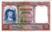 Espagne 500 Pesetas J. S. de Elcano - 1931