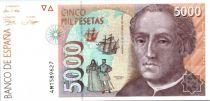 Espagne 5000 Pesetas C. Colomb - Astrolabe