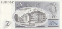 Estonia 2 Krooni - K.E. Von Baer - University of Tartu - 1992