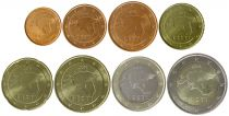Estonia Set of 8 coins - 2011