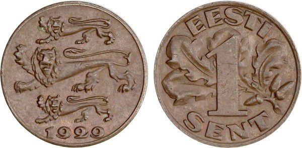 Estonie 1 Sent Lions