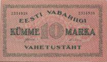 Estonie 10 Marka Ornements