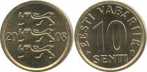 Estonie 10 Senti Lions
