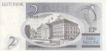 Estonie 2 Krooni - K.E. Von Baer - Université de Tartu - 1992