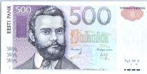 Estonie 500 Krooni  C.R. Jakobson - Oiseau - 2007
