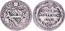 Etat Pontifical 1 Grosso, Clément XII - 1738 VIII