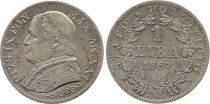 Etat Pontifical 1 Lire Pie IX - XXI - 1867 R Rome