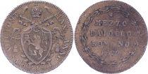 Etat Pontifical Mezzo Baiocco - Pivs VIII 1829 R