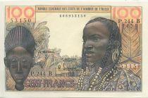 Staaten von Westafrika 100 Francs Mask
