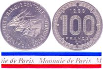 Etats de l\'Afrique Equatoriale 100 Francs - 1966 - Essai