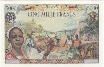 Etats de l\'Afrique Equatoriale 5000 Francs Banque Centrale - 1963 - Epreuve - Specimen - Neuf