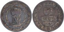 Etats Italiens 10 Centisimi - Napoléon I -1809 M