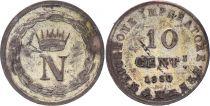 Etats Italiens 10 Centisimi - Napoléon I -1810 M