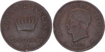 Etats Italiens 3 Centesimi - Napoléon I -1808 M