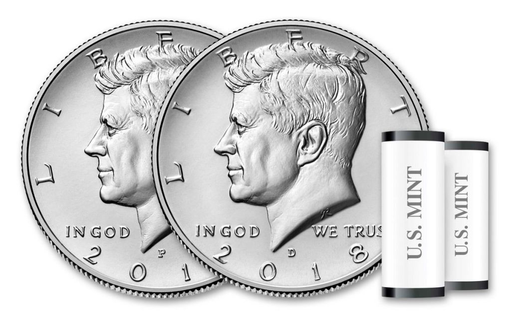 Etats Unis d´Amérique $½ 2018D J.F. Kennedy - Denver