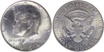 Etats Unis d´Amérique 1/2 Dollar J.F. Kennedy - 1964 D Denver - Argent