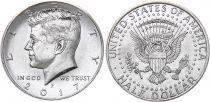 Etats Unis d´Amérique 1/2 Dollar J.F. Kennedy - 2017 P Philadelphie