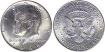 Etats Unis d´Amérique 1/2 Dollar Kennedy - 1964
