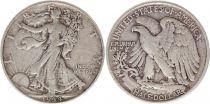 Etats Unis d´Amérique 1/2 Dollar Liberty, Aigle - 1944 - 1ère ex.
