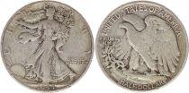 Etats Unis d´Amérique 1/2 Dollar Liberty, Aigle - 1944 - 2ère ex.