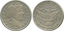 Etats Unis d´Amérique 1/2 Dollar Liberty, Barber - 1907