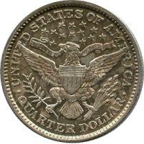 Etats Unis d´Amérique 1/4 Dollar Barber Quater