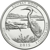 Etats Unis d´Amérique 1/4 Dollar Bombay Hook - 2015 P Philadelphie
