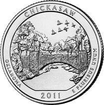 Etats Unis d´Amérique 1/4 Dollar Chikasaw
