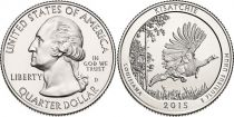 Etats Unis d´Amérique 1/4 Dollar Kisatchie - 2015 P Philadelphie