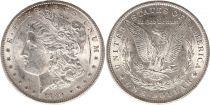 Etats Unis d\'Amérique 1 Dollar - Morgan - 1889 - Aigle - Argent