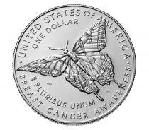 Etats Unis d´Amérique 1 Dollar Cancer du sein Proof - D Denver Argent