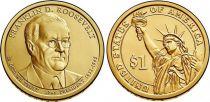 Etats Unis d´Amérique 1 Dollar F. Roosevelt - 2014 P Philadelphie