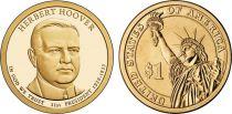 Etats Unis d´Amérique 1 Dollar Herbert Hoover - 2014 P Philadelphie