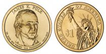 Etats Unis d´Amérique 1 Dollar James K. Polk - 2009