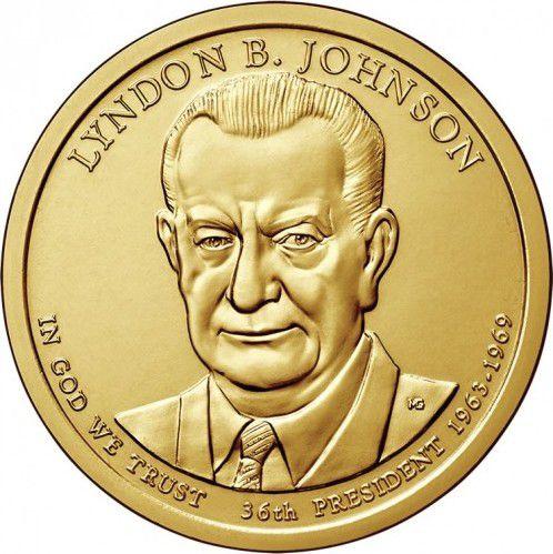 Etats Unis d´Amérique 1 Dollar Lyndon Johson - 2015 P Philadelphie