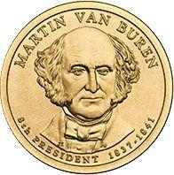 Etats Unis d´Amérique 1 Dollar Martin Van Buren - 2008