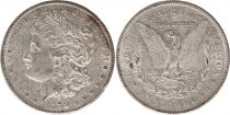 Etats Unis d\'Amérique 1 Dollar Morgan - Aigle 1878 S San Francisco - Argent