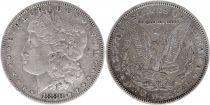 Etats Unis d´Amérique 1 Dollar Morgan - Aigle 1880 - Argent sans atelier