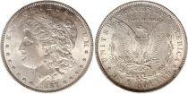 Etats Unis d\'Amérique 1 Dollar Morgan - Aigle 1887 - Argent 2ème ex