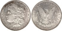 Etats Unis d\'Amérique 1 Dollar Morgan - Aigle 1887 - Argent