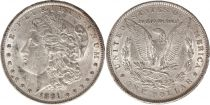 Etats Unis d\'Amérique 1 Dollar Morgan - Aigle 1891 - Argent