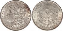 Etats Unis d\'Amérique 1 Dollar Morgan - Aigle 1896 - Argent