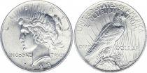 Etats Unis d´Amérique 1 Dollar Peace - 1923 sans atelier