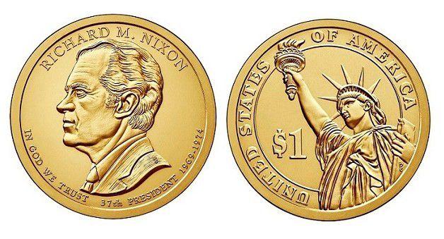Etats Unis d´Amérique 1 Dollar Richard Nixon - 2016 D Denver