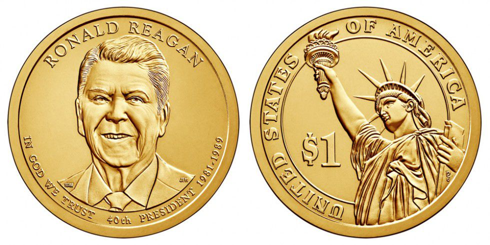 Etats Unis d´Amérique 1 Dollar Ronald Reagan - 2016 D Denver