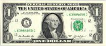 Etats Unis d´Amérique 1 Dollar Washington - 2013 - L 12 San Francisco