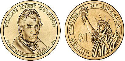 Etats Unis d´Amérique 1 Dollar William Henry Harrison - 2009 - P Philadelphie