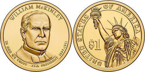 Etats Unis d´Amérique 1 Dollar William McKinley - 2013